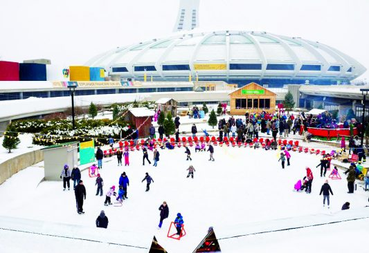 winter olympic-village-stadium